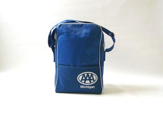 Vintage AAA Blue Tote Bag