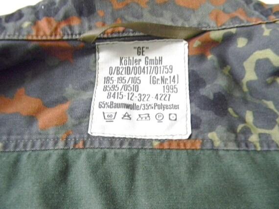 German Camouflage Shirt/Jacket - image 5