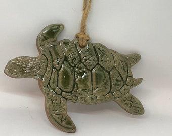 Sea Turtle Ornaments Handmade Sea Life ceramics make great favors!