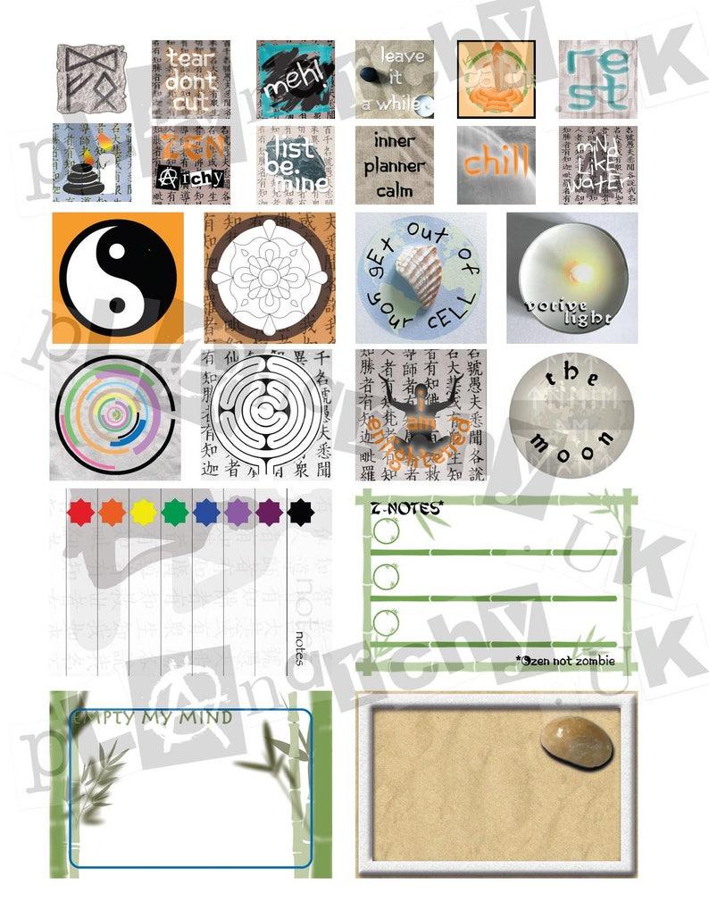zenarchy digital download stamp/sticker set image 0