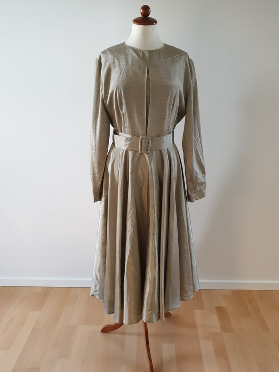 1960s gown, 60s dress, vintage dress, homemade, ev