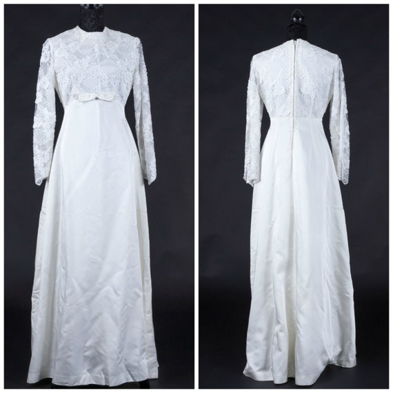 1960s wedding dress, vintage wedding dress