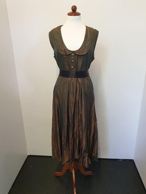 1940s dress, 1950s, plus size vintage, volup, larg