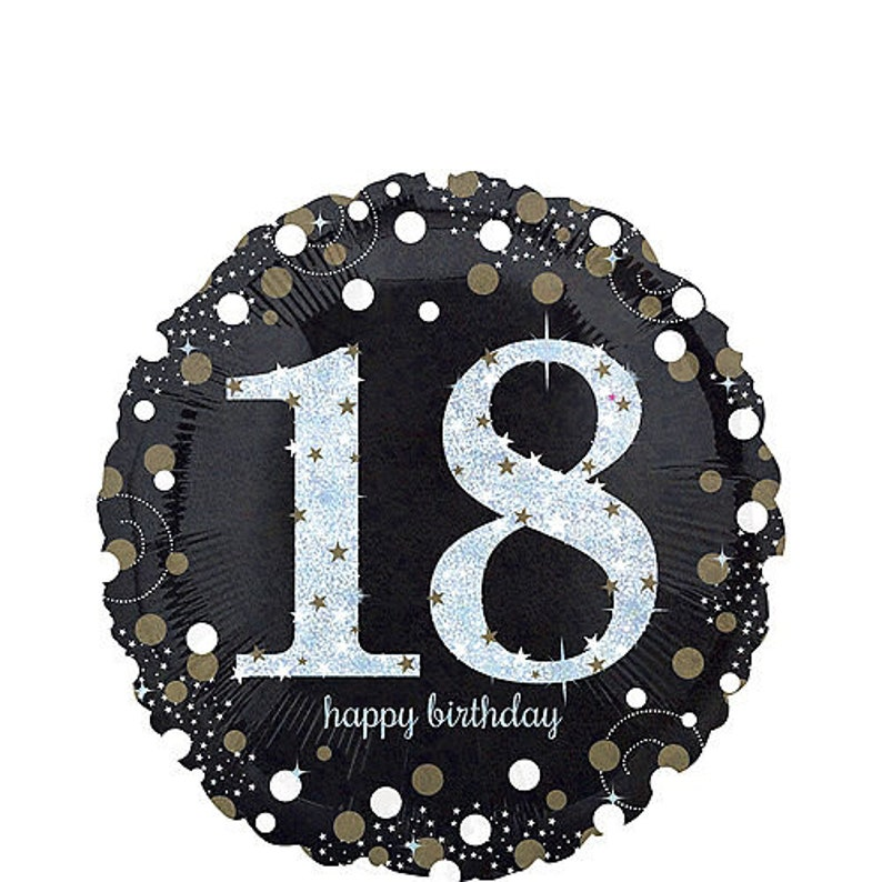 """6/"""" Pink Sparkle Giant 60th Birthday Prismatic Party Badge"""