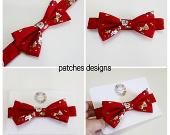 boys bow tie bow tie shirt tie dickie bow christmas bow tie handmade wedding bow tie christening pet bow tie hook and loop childs bow tie