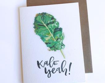 Kale Yeah! Card