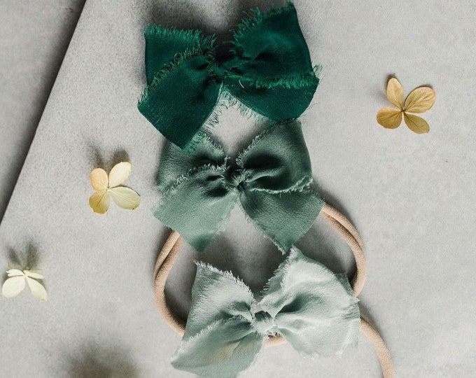 Headbands and Bows- Whimsical Collection | Earth colors