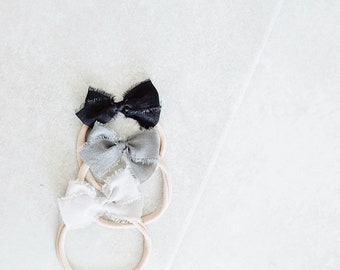 Headbands and Bows- Whimsical Collection   Stone colors