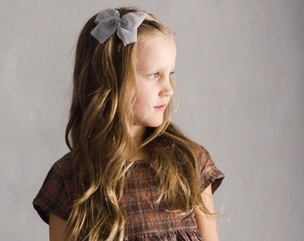 Headbands and Bows- Whimsical Collection   Anna   light blue bow or headband