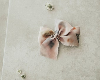 Headbands and Bows- Bloom Collection | Flora nature pressed bow or headband