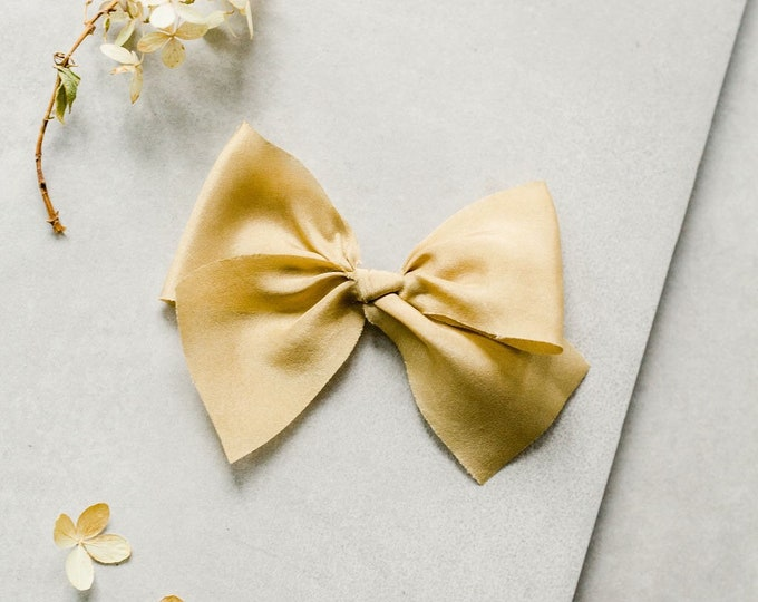 Headbands and Bows- Whimsical Collection | Idelle Bright Gold bow or headband