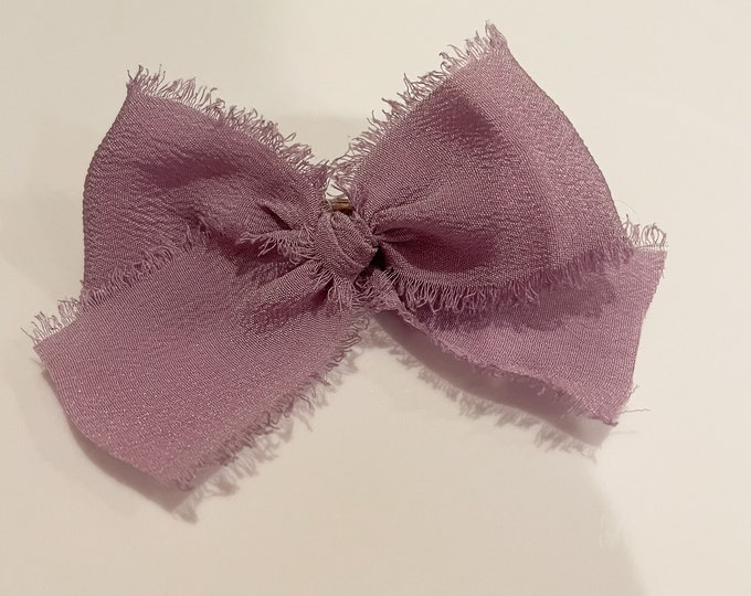 Headbands and Bows - Lavendar color | small clip