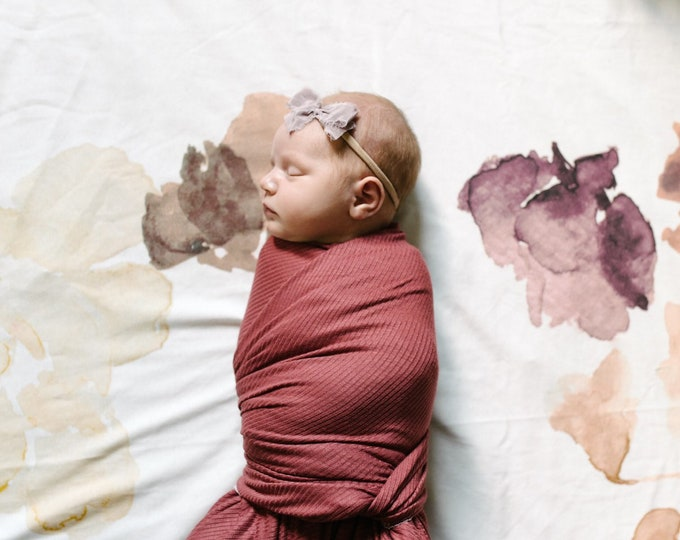 Baby Swaddle Blanket - Petal Swaddle
