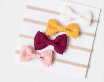 bows + headbands