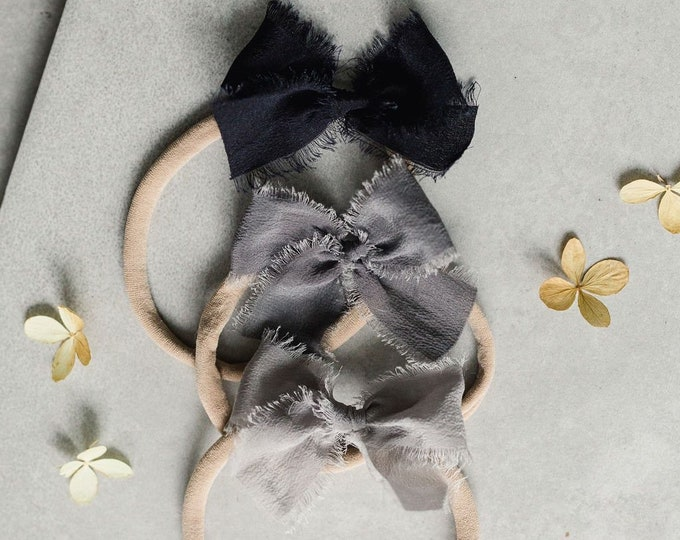 Headbands and Bows- Whimsical Collection | Stone colors