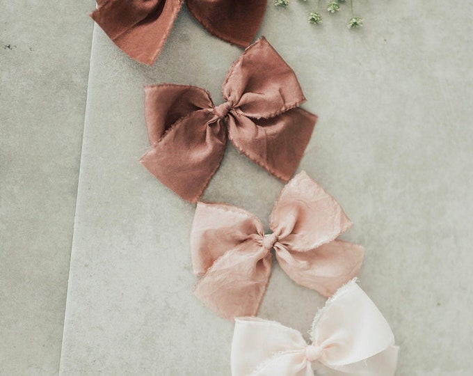 Headbands and Bows- Bloom Collection | Magnolia colors | medium