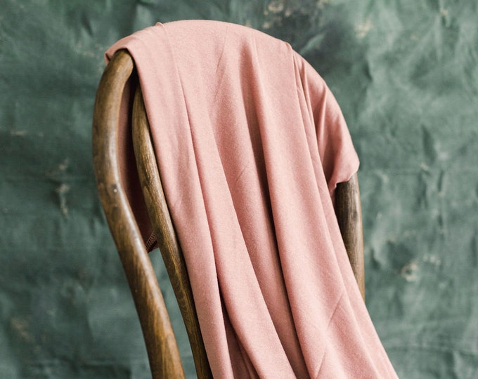 Baby Swaddle Blanket - Lux Antique Mauve Swaddle | the Annabelle