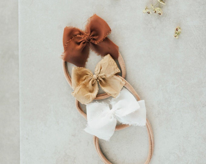 Headbands and Bows- Bloom Collection | Daisy colors | dainty