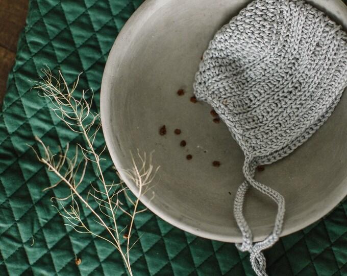 Baby Blanket - Antique Green Quilt | Benjamin |