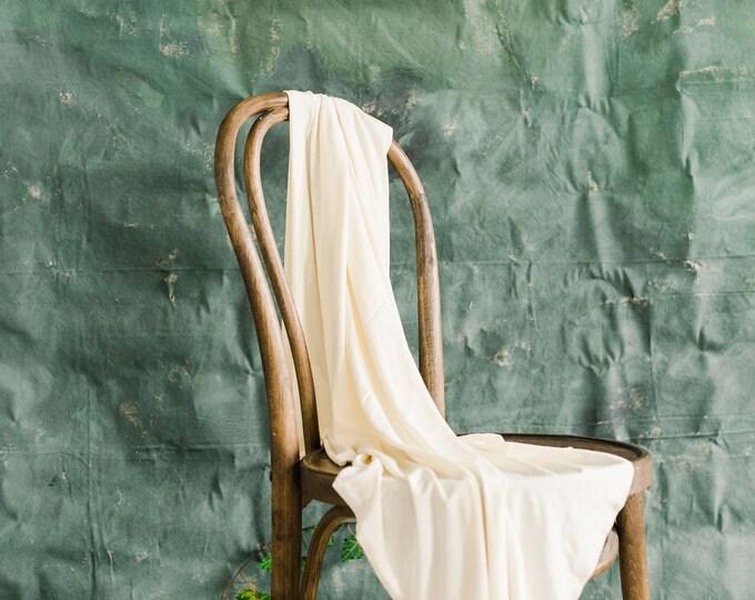 Baby Swaddle Blanket - Lux Oat Cream Swaddle