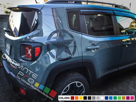 Decal Sticker For Jeep Renegade Compass Star Bu 520 Latitude Etsy