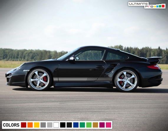 Porsche 911 GT3 RS 991 Style wall art decal Graphic sticker. HUGE, Cup Race