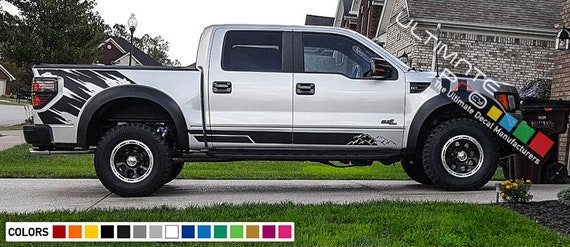 2009-2011 Ford F150 STX Decals Stickers Set F Truck Bed Side Full Color