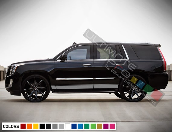 "Cadillac 2X 9/"" Decal Sticker Stickers Graphic caddy luxury Choose Color"