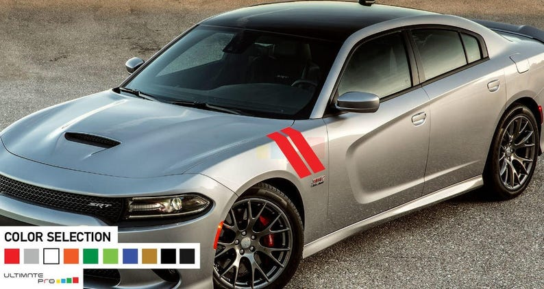 Full Kit of Stickers Decas compatible with dodge Charger No143