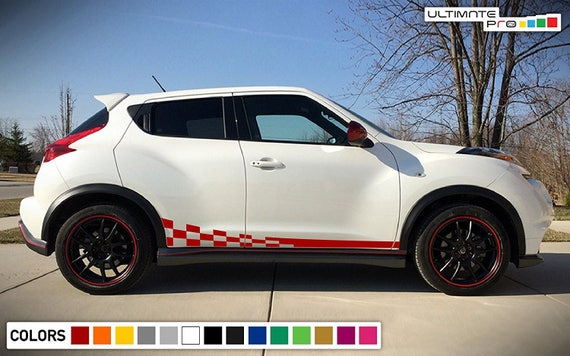 Sticker Decal Vinyl Graphic Side Door Stripe Kit for Nissan Juke Sport Nismo SV