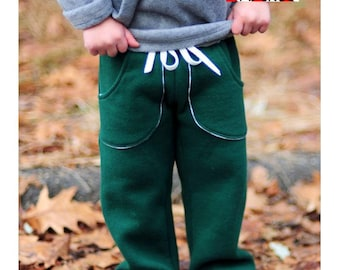 Pirate Playground Shorts and Pants Sewing PDF Pattern Sizes 3months to 14 For Boys or Girls- Modern and Stylish