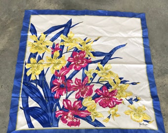 Jim Thompson Iris Floral Scarf - Jim Thompson - Jim Thompson Scarf
