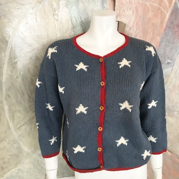 Planet Earth Sweaters Handcrafted Star Patterned W