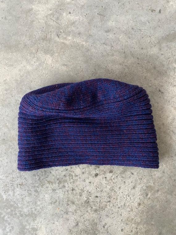 Vintage Patricia Underwood Purple Blue Wool Turba… - image 4