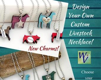 Design Your Own Custom Livestock Necklace
