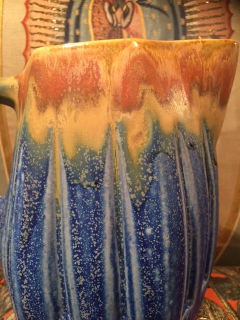 Bar Pitcher Art Deco French Water Jug LAYAWAYS 17.5 cm 1920s Stoneware Signed G Metenier French Vase