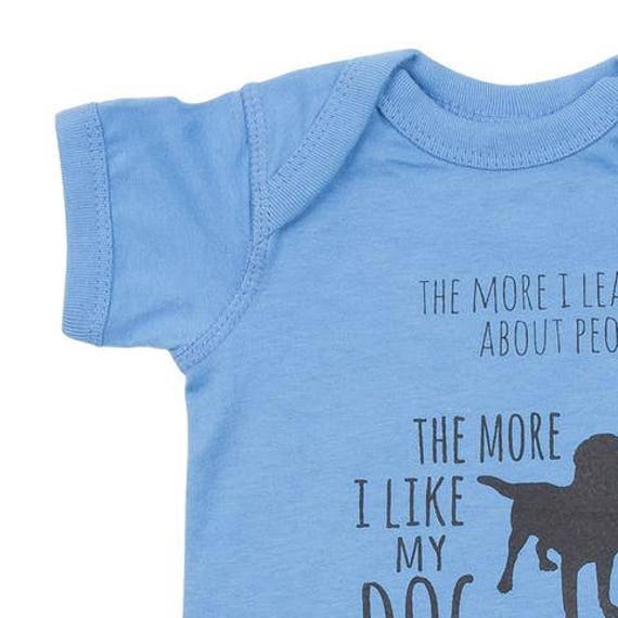 Mark Twain Like My Dog Onesie Etsy