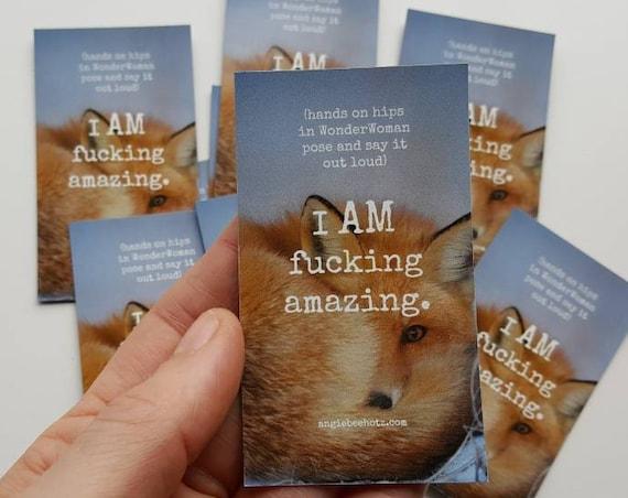 I am fucking amazing.  Fox magnet
