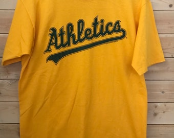 416bf1d2 Vintage Athletics Shirt // Vintage Spring Training Staff Shirt// Vintage  Sports Shirt// Vintage Training Shirt// Vintage Spring Training