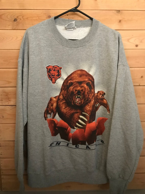 Vintage Chicago Bears Sweater // Vintage Chicago S