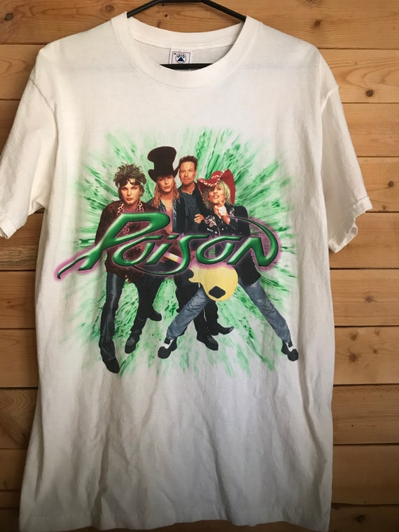Vintage Poison Shirt // Vintage Rock Band Shirt //