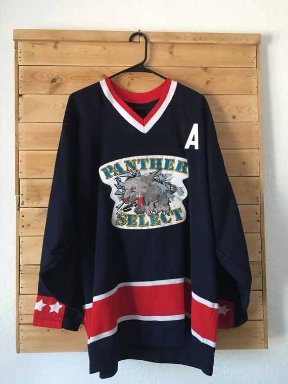 Vintage Hockey Jersey // Panthers Hockey Jersey //