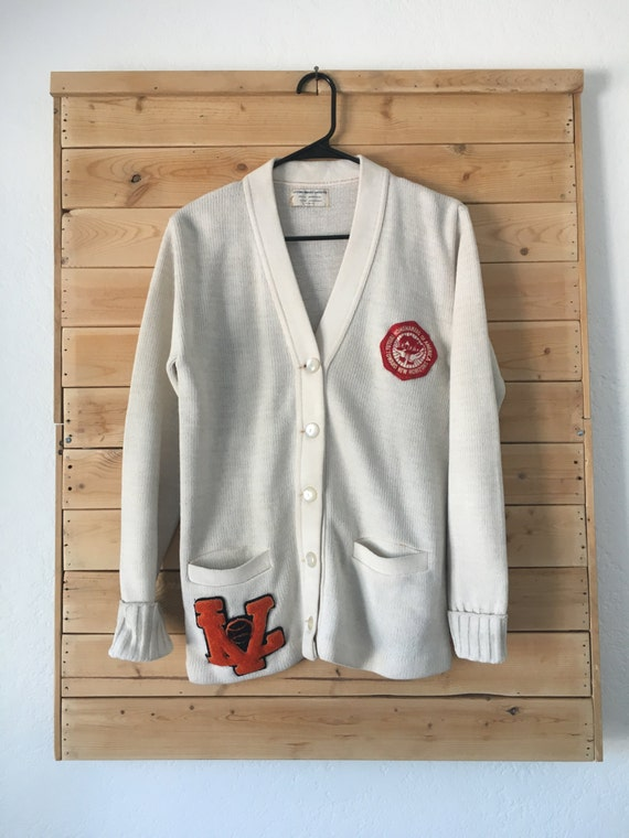 Vintage Letterman Sweater // Official Award Sweate