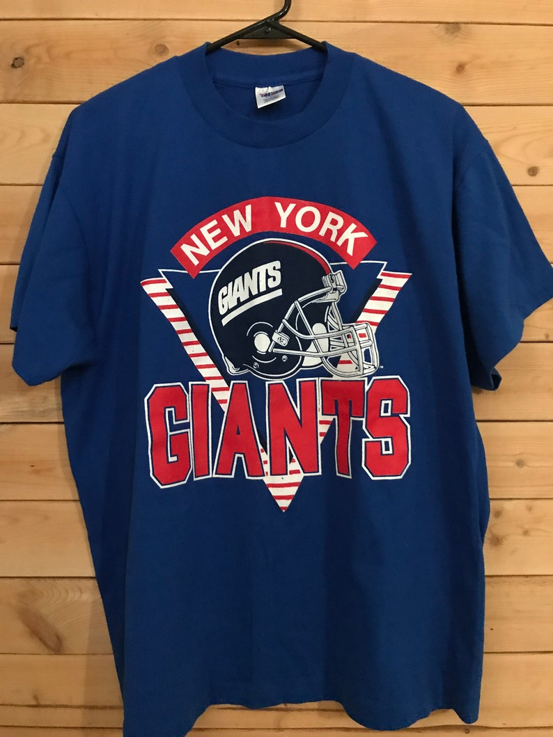 reputable site 727ba 2d22f New York Giants Shirt // Vintage NY Giants Shirt // Vintage Football  Shirt// Vintage Giants Shirt//Vintage New York Shirt//Vintage NFL Shirt