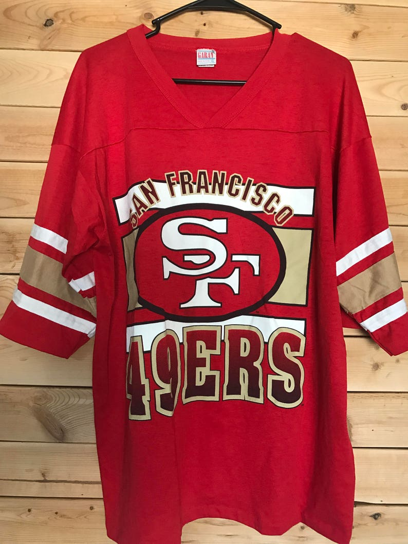 size 40 6f3cb 0a73d San Francisco 49ers Shirt // Vintage 49ers Shirt // Vintage San Francisco  49ers