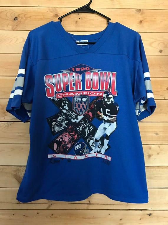New York Giants Superbowl XXV Shirt    Vintage NY Giants  bff02575b
