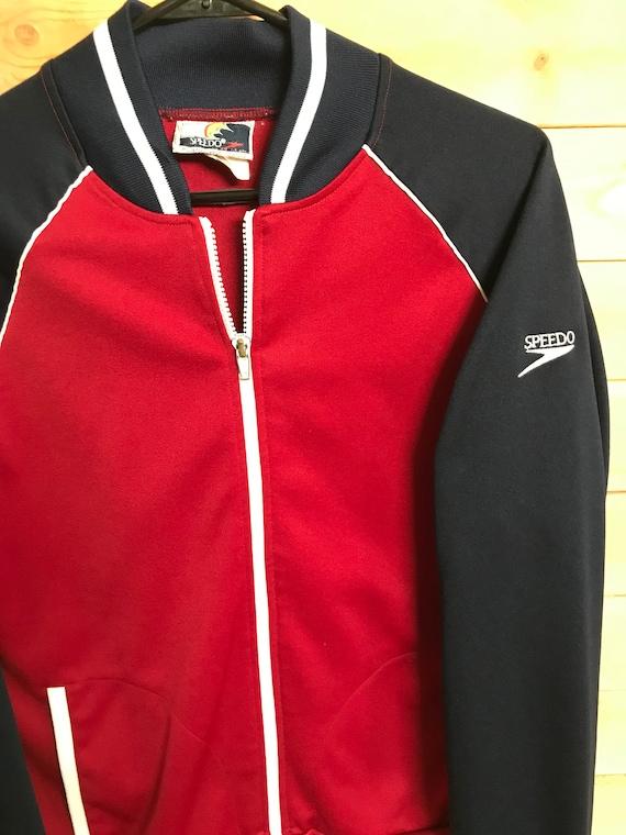 Vintage Speedo Jacket// Vintage Track Jacket// Vi… - image 4