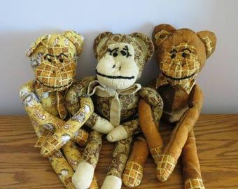 Harvest Sock Monkeys