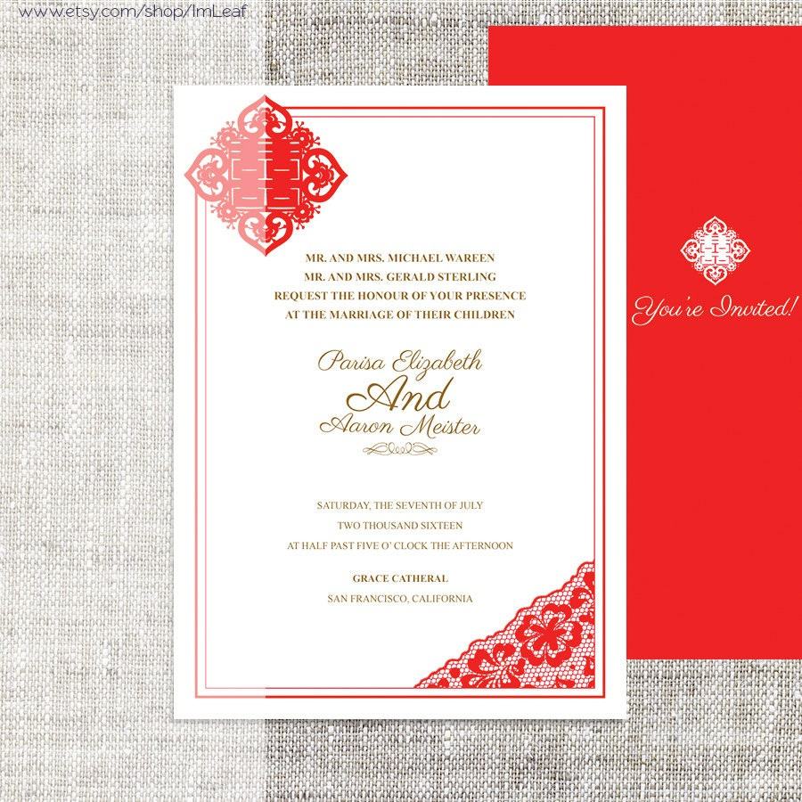 Exelent Diy Damask Wedding Invitations Illustration - Invitations ...