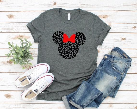 Disney Vacation Shirt | Disney minnie shirt | Minnie vacation Shirt | Matching disney family shirt | Mickey head shirt | minnie cute shirt